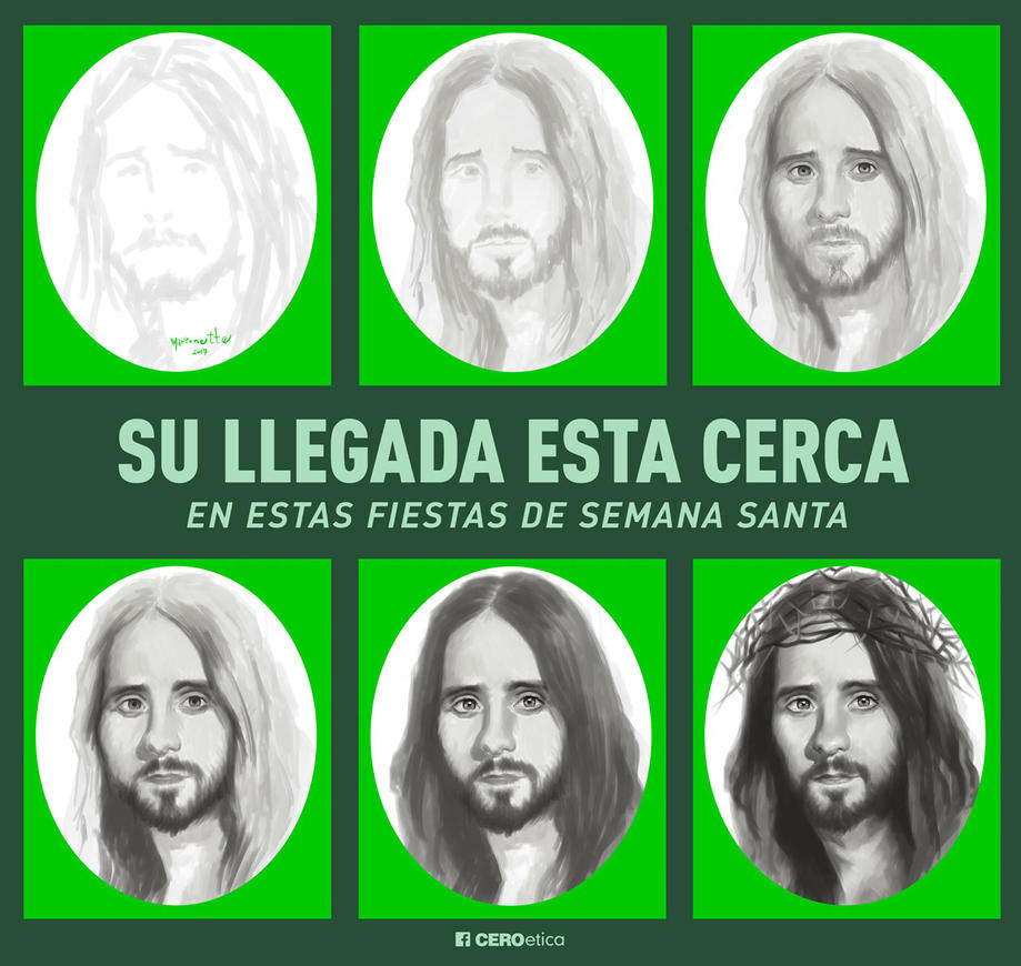 Jesus Christ Is Coming by CEROetica