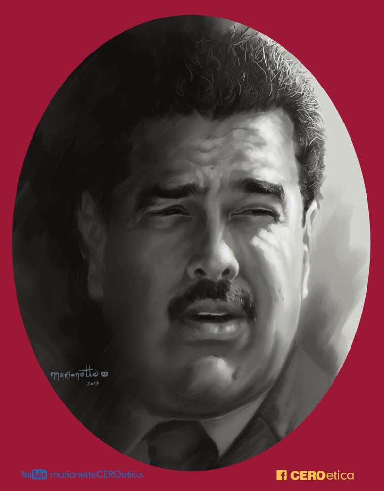 Nicolas Maduro Presidente de Venezuela by CEROetica