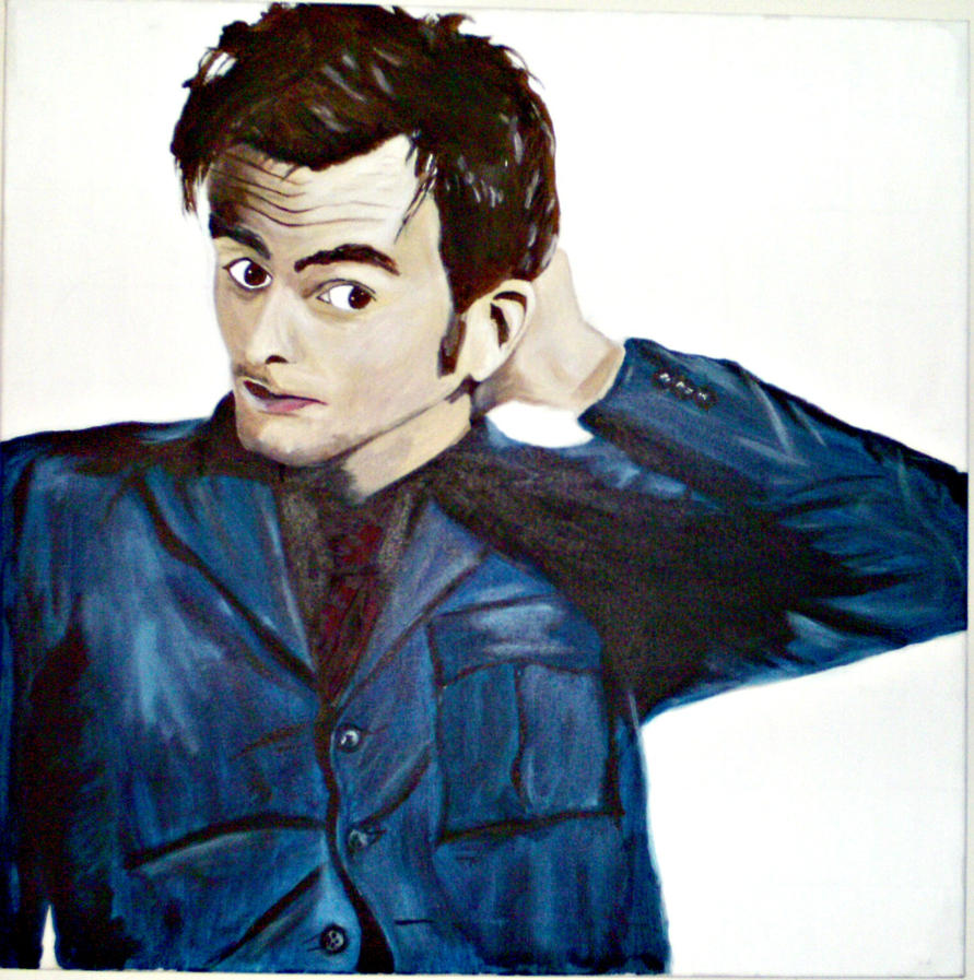 David Tennant by thestatickilledme