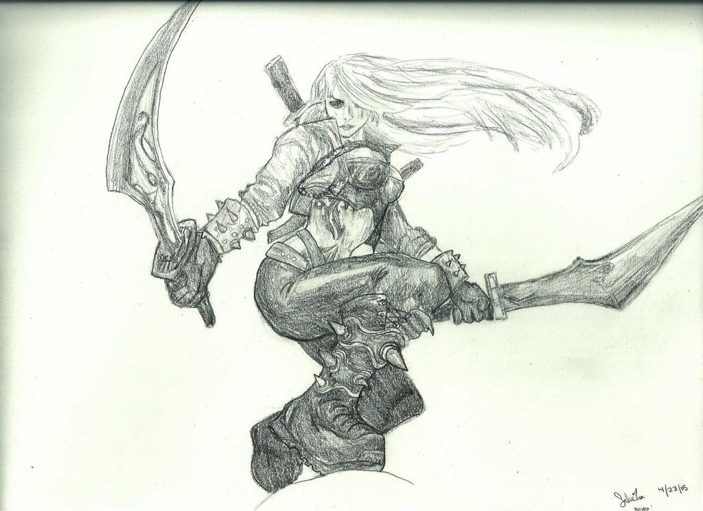 Mercenary Katarina by thestatickilledme