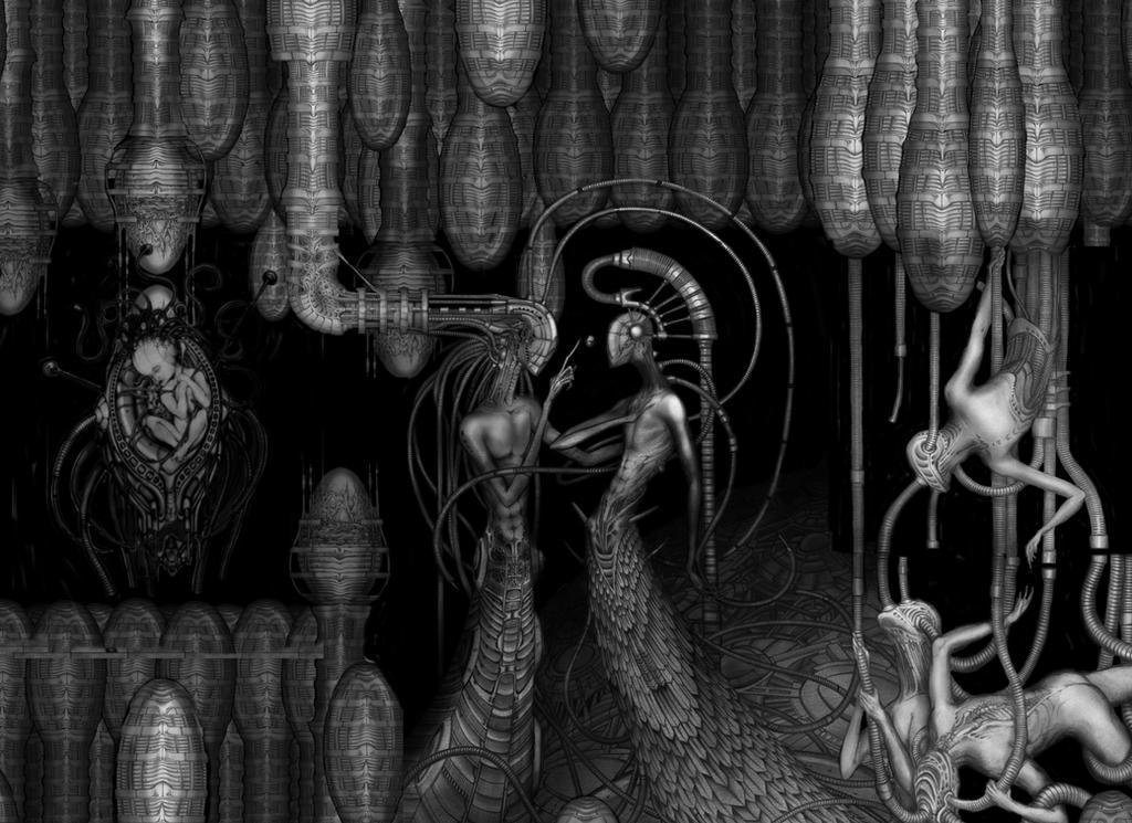 Organisma Ovarium detail by Rodrigomagnovieira