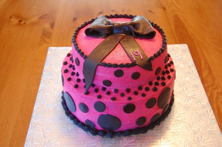 Fun 19th Birthday Girl By Creativecakesbykatie On Deviantart