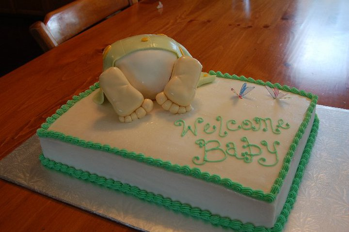 Cake Baby Images Download : Baby Rump Cake by CreativeCakesByKatie on DeviantArt