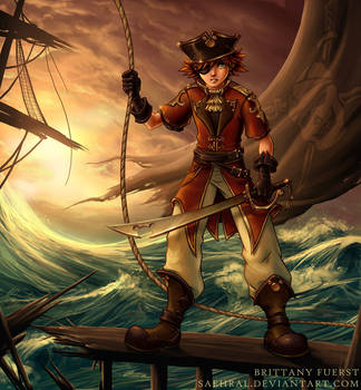 Pirate Sora, revisited by Saehral