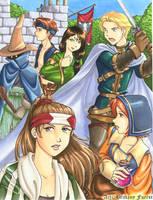 Final Fantasy Tactics by Saehral