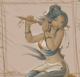 Flute by Saehral