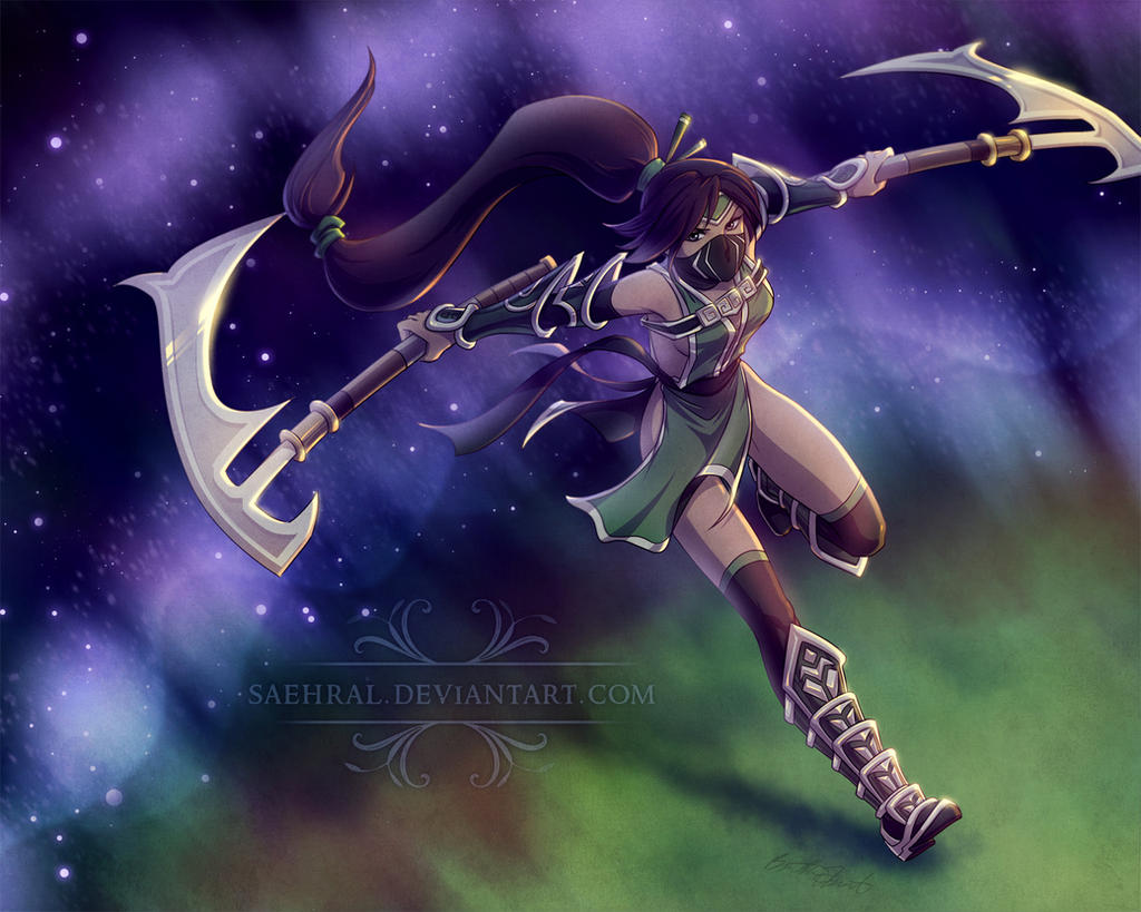 The Shadow Ninja by Saehral