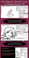 NOOB TUTORIAL: Anti-Aliased Lines in Manga Studio