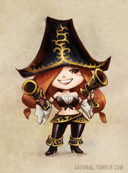 Little Miss Fortune by Saehral