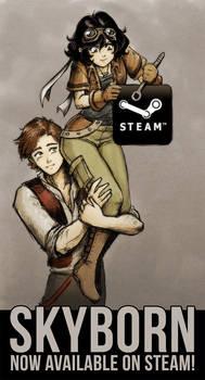 Skyborn's on Steam!