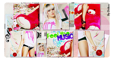 Feel the music sign by Didica-Mantovani