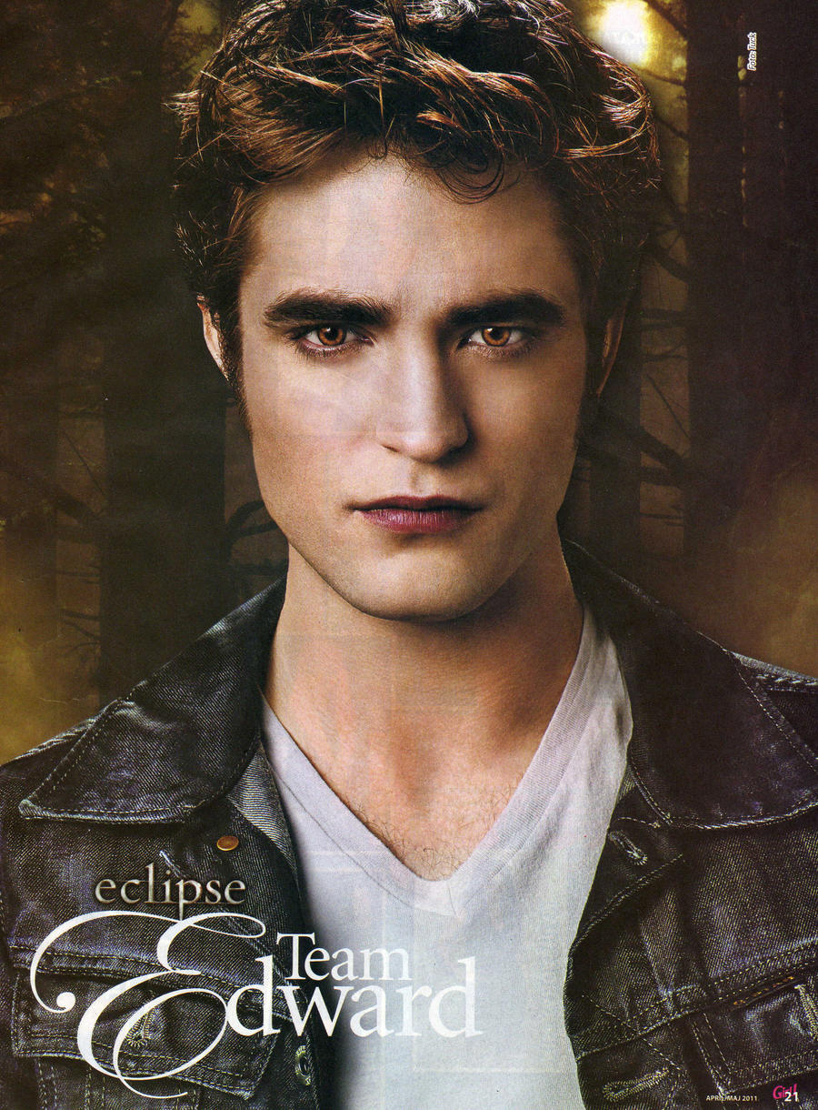 Edward Cullen - Poster by House-Girl on DeviantArt