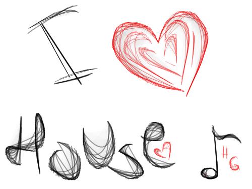 I love house music by house girl on deviantart for House music art