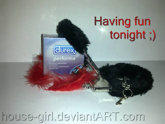 Wanna play? DUREX :D by House-Girl