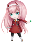 Zero Two Chibi