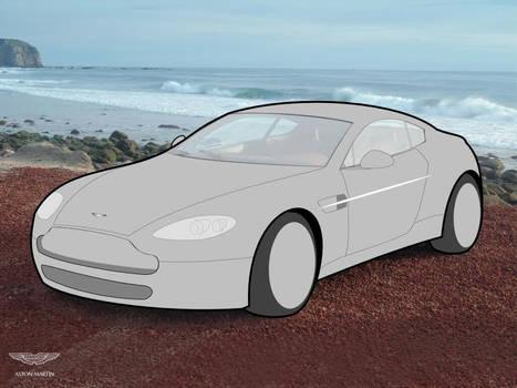 AstonMartin Vantage Vectorised