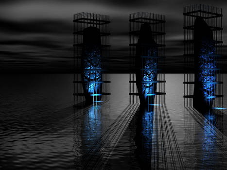 Caged - Night