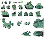 Verdant Blade Army Sheet
