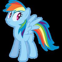 Lying Rainbow Dash by elviswjr
