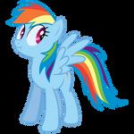 Lying Rainbow Dash