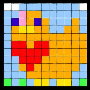 Pixel Chicken Me