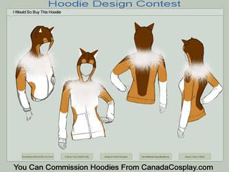 Collie Dog Hoodie by Katy133