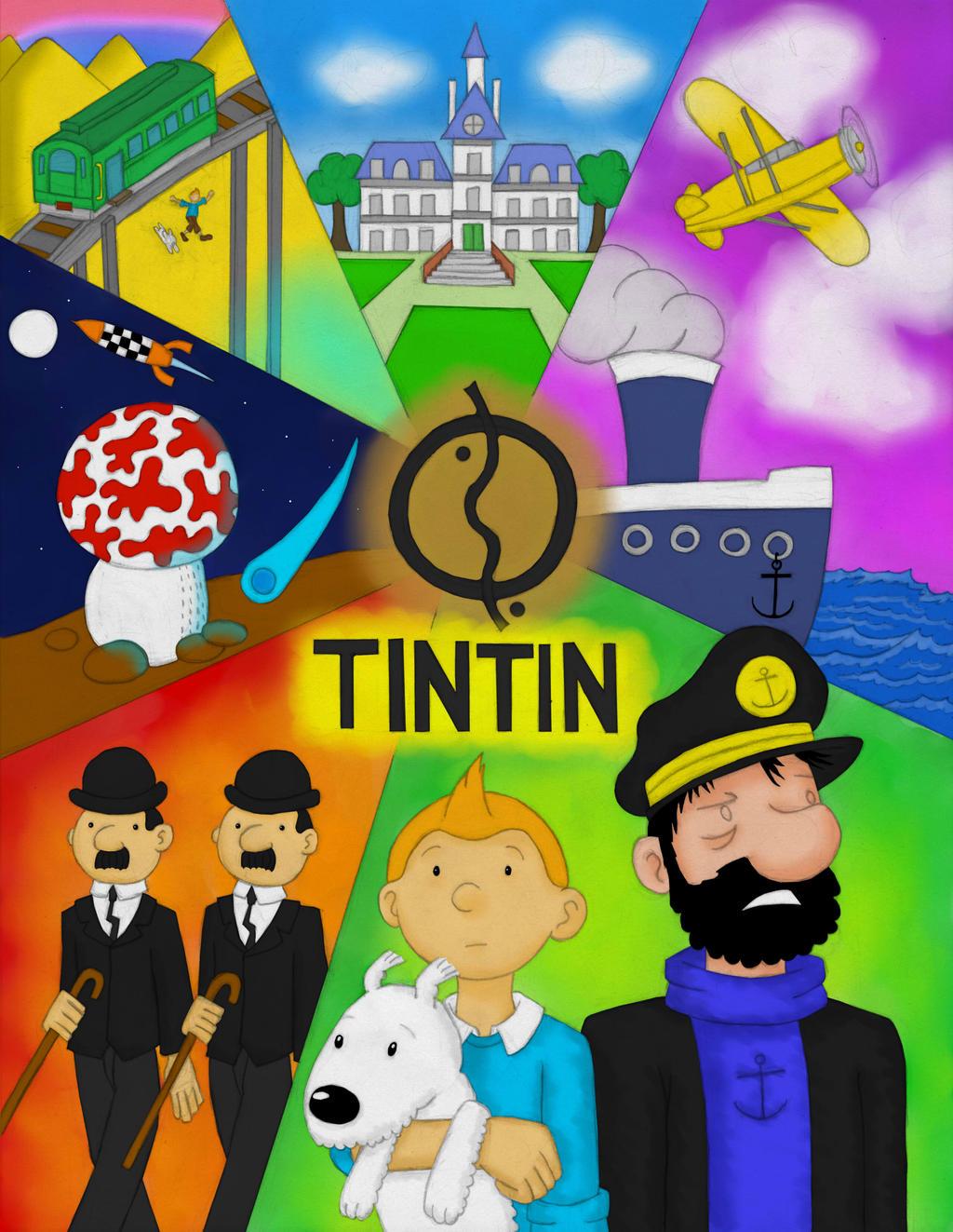 The Adventures of Tintin by Katy133 on DeviantArt