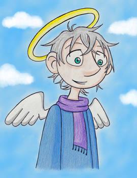 An Aasimar Angel