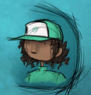 Girl with a Baseball Cap