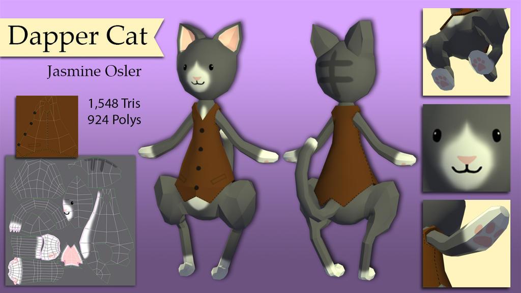 Dapper Cat Model by Katy133