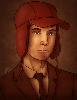 Holden Caulfield Portrait