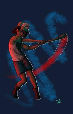 Holden Moss - Baseball Bat Swing