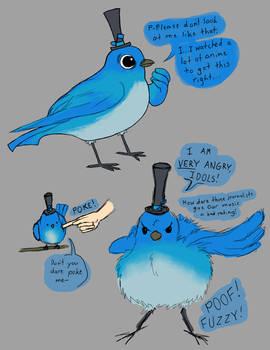 Concept Art - Bird Mascot ALTO
