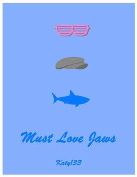 Glasses Hat Shark - MLJ Poster