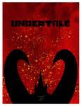 Asgore - Undertale Minimalist Poster