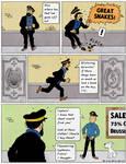 Tintin Comic Study - Clothes