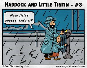 Haddock and Little Tintin - #3