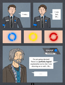Detroit Become Human Comic - Chalk - Page 2