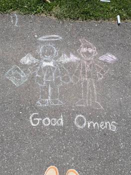 Good Omens Chalk