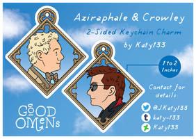 Aziraphale and Crowley Charm