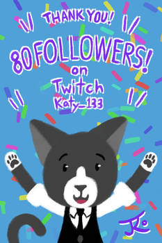Cheer with Tuski - 80 Twitch Followers