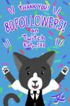 Cheer with Tuski - 80 Twitch Followers