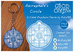 Good Omens - The Circle Keychain Charm