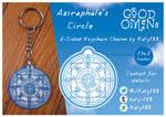 Good Omens - The Circle Keychain Charm by Katy133