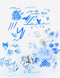 Brush Test Doodles 3