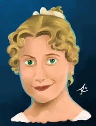 Paint Study - Jane