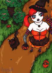 Happy Halloween :D by ilyana8