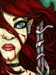 Fantasy Warrior by ilyana8