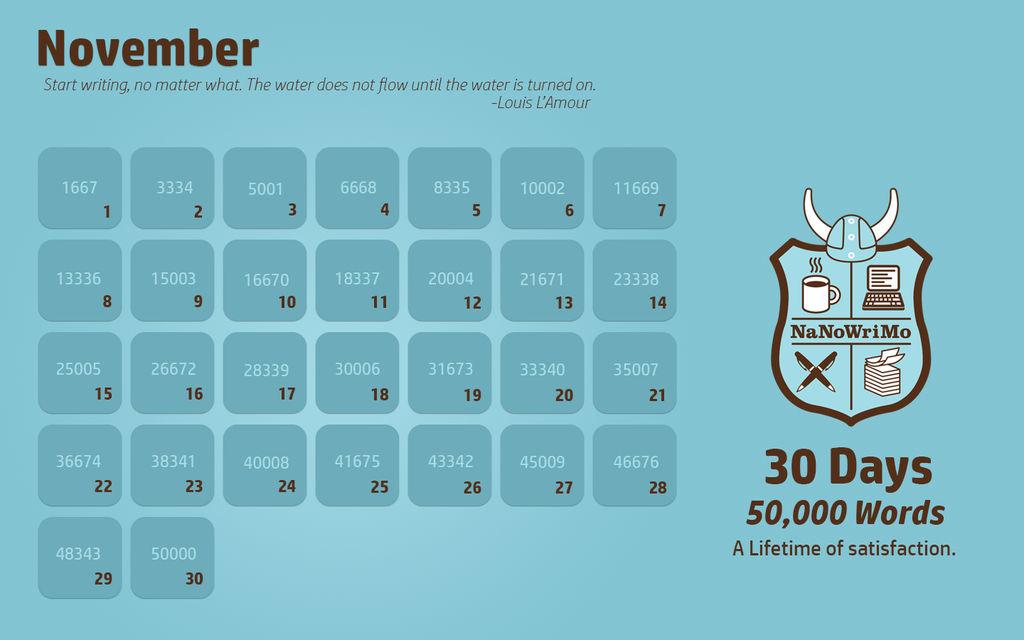NANOWRIMO-calendar