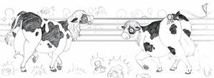 TSR: All Eyes Are On Us (Cow TF): By Soniagreene